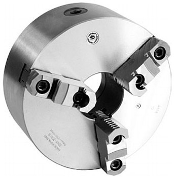 Bison 10 3 Jaw Self Centering Manual Chuck 2-14 - 8 Thread Mount 7-805-1053