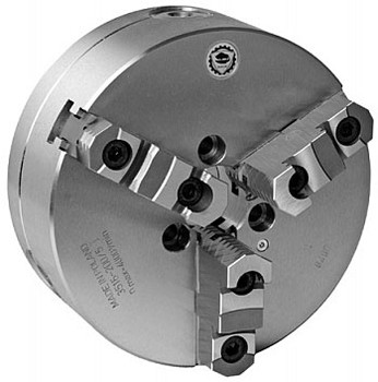 Bison 10 3 Jaw Self Centering Manual Chuck A1-6 Mount 7-821-1016