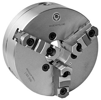 Bison 12 3 Jaw Self Centering Manual Chuck D1-6 Mount 7-823-1236