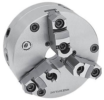 "Bison 10"" 3 Jaw Self Centering Manual Chuck Set Tru Plain Back 7-866-1000"