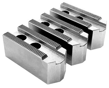 1.5mm x 60° Soft Top Jaws for 12 Power Chuck, Pointed, Aluminum, PK3, KT 12258AP