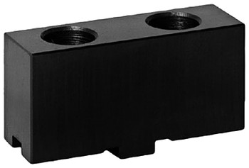 Bison Soft Top Jaws for 12 Scroll Chuck, 1pc, 7-884-312