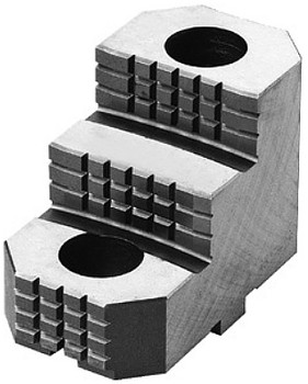 Bison Hard Top Jaw for 16 & 20 Scroll Chuck, 1pc, 7-890-2223
