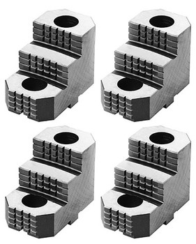 Bison Hard Top Jaw for 25, 28, 32, 40, 49 Scroll Chuck, 4pc, 7-890-2322