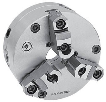 Bison 20 3 Jaw Self Centering Manual Chuck Set Tru Plain Back 7-866-2000