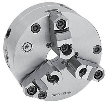 Bison 25 3 Jaw Self Centering Manual Chuck Set Tru Plain Back 7-866-2500