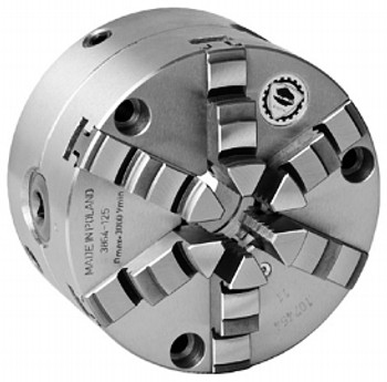 Bison 6 6 Jaw Self Centering Manual Chuck Set Tru Plain Back 7-868-8060