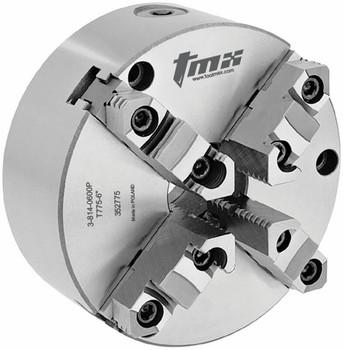 "TMX 20"" 4 Jaw Self Centering Manual Chuck Plain Back Front Mount 3-814-2000P"