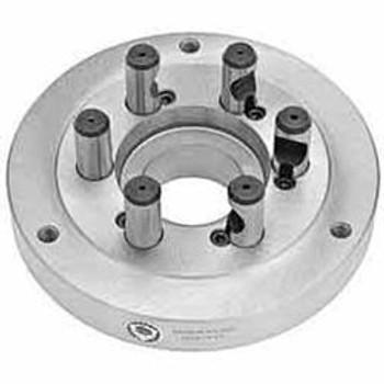 "Bison Set Tru D1-4 Adapter Plate 7-875-054 for 5"" Chucks"