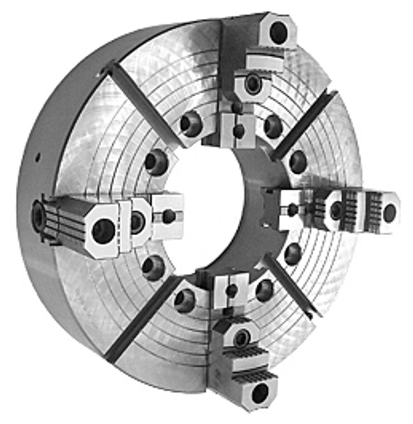 Bison 25 4 Jaw Independent Extra Large Thru Hole Oil Country Chuck A2-20 Mount 7-859-2555