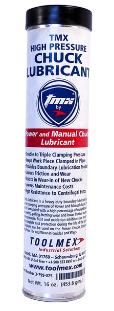 TMX High Pressure Chuck Lubricant Grease 16oz Cartridge 3-799-025