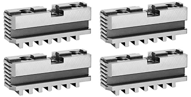 Bison Hard Master Jaws for 12 Scroll Chuck, 4pc, 7-885-412