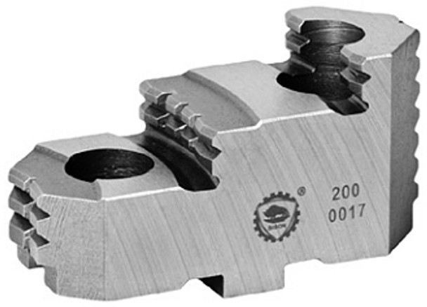 Bison Hard Top Jaws for 32 Independent Chuck, 4pc, 7-890-232E
