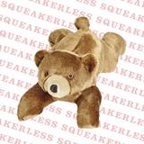 Squeakerless Sadie Bear