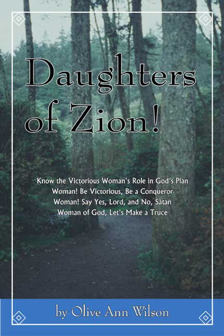 Daughters of Zion!