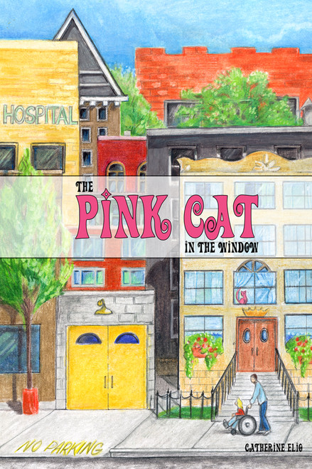 The Pink Cat in the Window