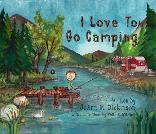 I Love To Go Camping - eBook