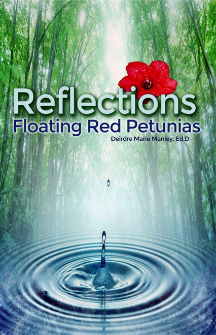 Reflections: Floating Red Petunias - eBook