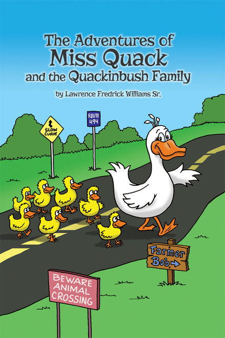 The Adventures of Miss Quack and the Quackinbush Family - eBook