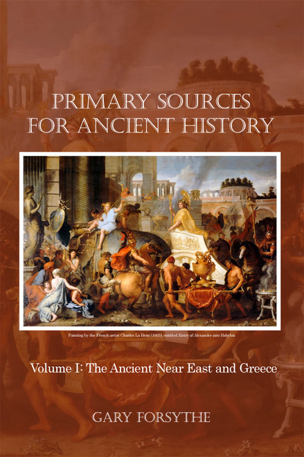 Primary Sources for Ancient History