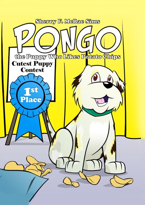 Pongo the Puppy Who Likes Potato Chips