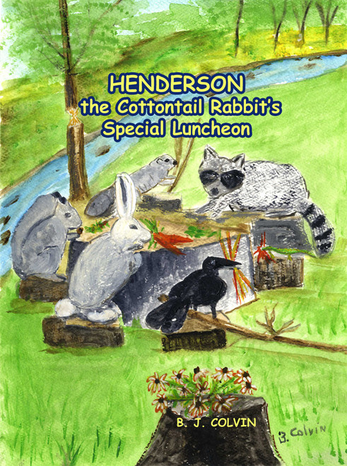 Henderson the Cottontail Rabbit's Special Luncheon