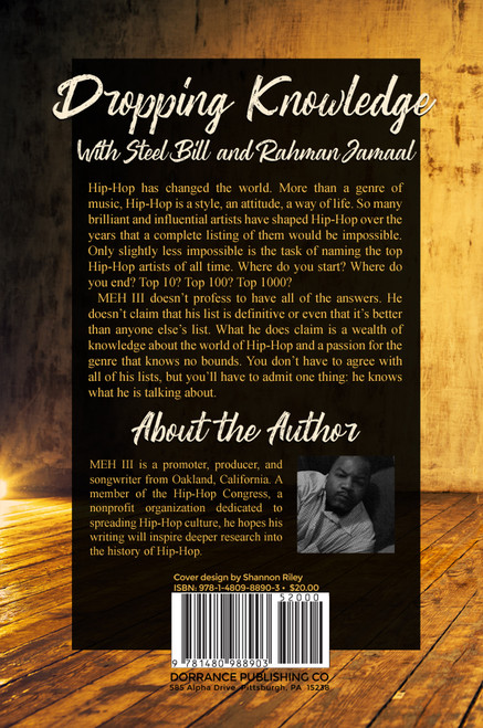 Dropping Knowledge With Steel Bill and Rahman Jamaal - eBook