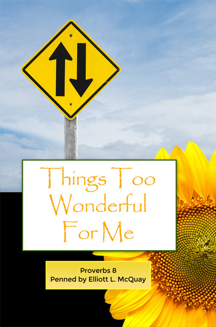 Things Too Wonderful for Me