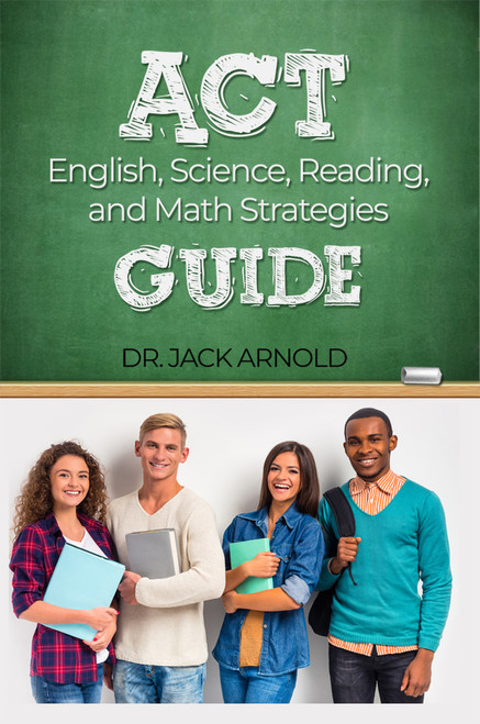 ACT English, Science, Reading and Math Strategies Guide - eBook