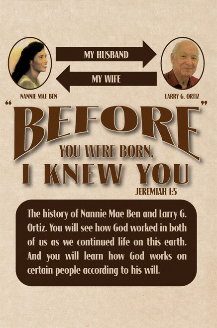 Before You Were Born I Knew You - eBook