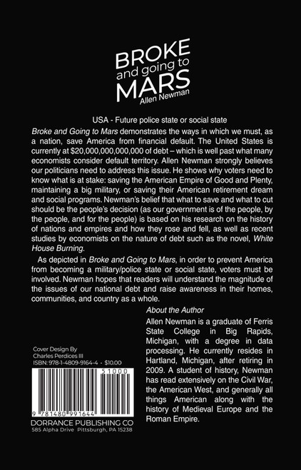 Broke and Going to Mars