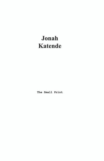 The Small Print - eBook