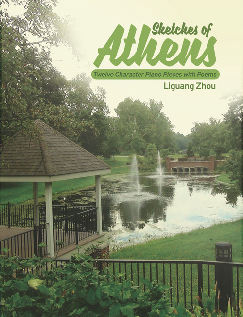 Sketches of Athens: Twelve Character Piano Pieces with Poems (PB)