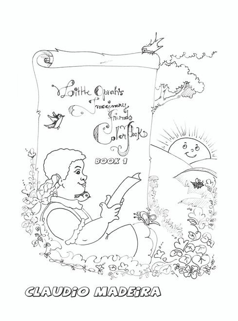 Little Oprah's Imaginary Friends Coloring Book - eBook