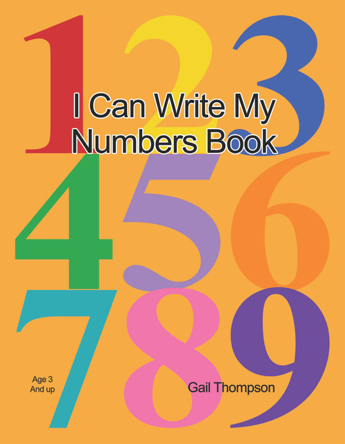 I Can Write My Numbers Book