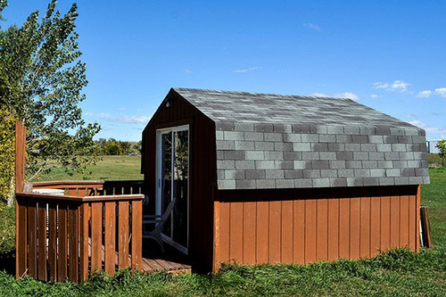 Sturgis Motorcycle Rally CABIN SITE at the Buffalo Chip