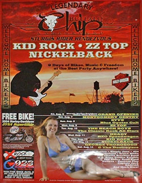 2004 Buffalo Chip Poster
