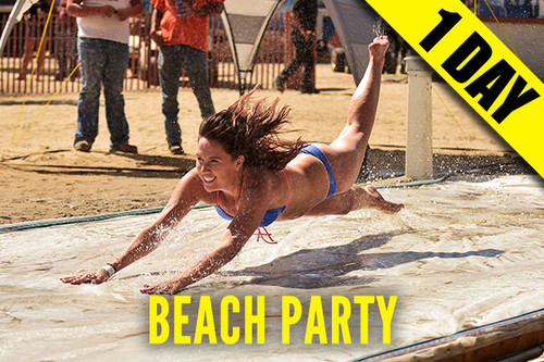 2021 - Campground Admission Pass - 8/2 - Mon - Early Bird Party at the Beach