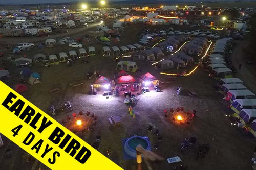 Pre-Rally Concierge Camping Upgrade Experience Buffalo Chip Sturgis Motorcycle Rally