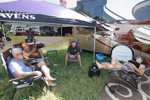 Sturgis Motorcycle Rally RV SITE at the Buffalo Chip