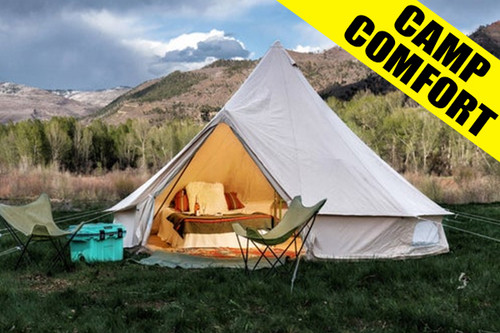 Camp Comfort - 9-Night Package - Aug 6-15 Maximum Occupancy 2