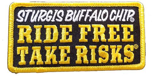 Ride Free, Take Risks Patch