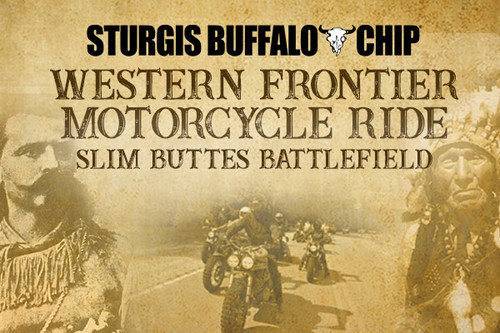 Western Frontier Buffalo Chip Sturgis Motorcycle Rally Motorcycle Ride