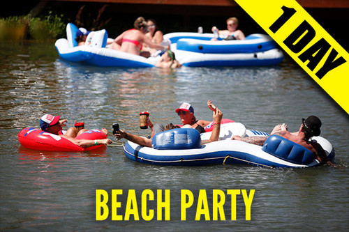 2021 Campground Admission Pass-8/4- Wednesday-Early Bird Party at the Beach