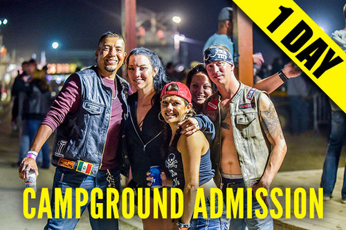 Campground Admission Pass – Friday, Aug. 6, 2021