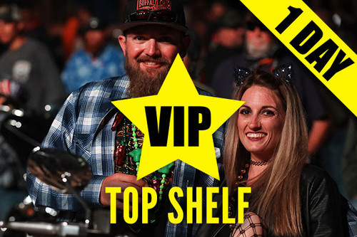 Top Shelf VIP Upgrade – Wednesday, Aug. 11, 2021