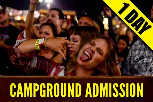 Campground Admission Pass – Saturday, Aug. 7, 2021