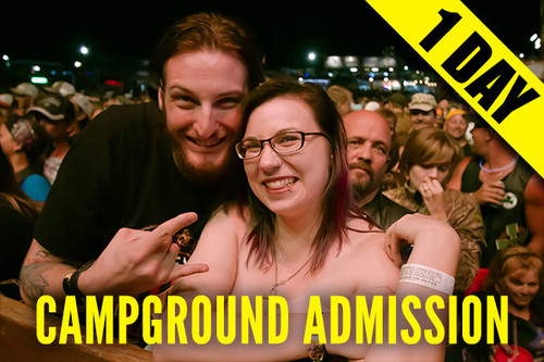 Campground Admission Pass – Monday, Aug. 9, 2021