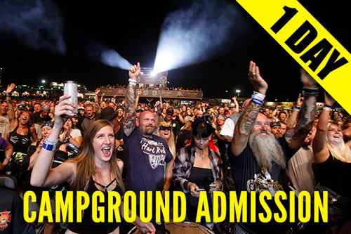 Campground Admission Pass – Tuesday, Aug. 10, 2021