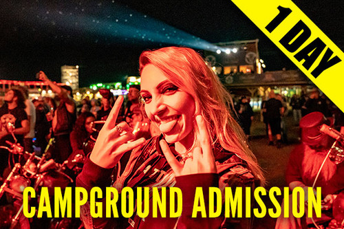 Campground Admission Pass – Wednesday, Aug. 11, 2021